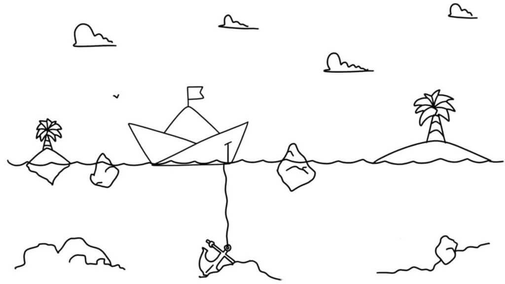 sailboat exercise