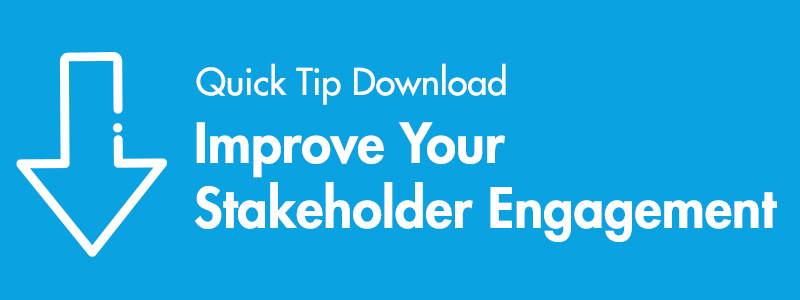 how to improve stakeholder engagement